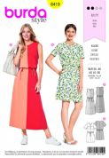 6419  Burda Pattern: Ladies Dress